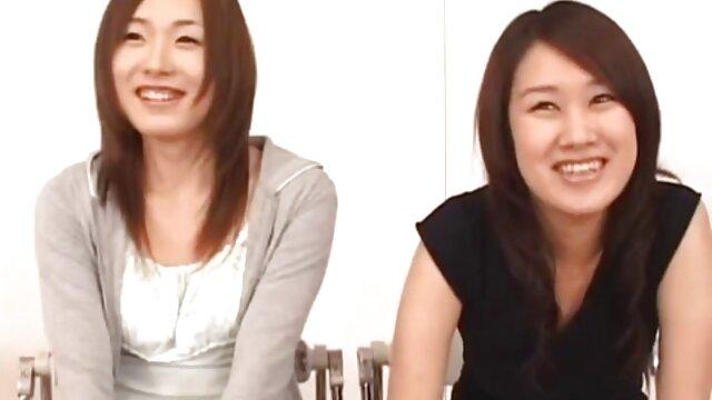 Haruka Aizawa tiene videos de lesbianas frotando sus coños el culo y la raja llenos de esperma después del doble té